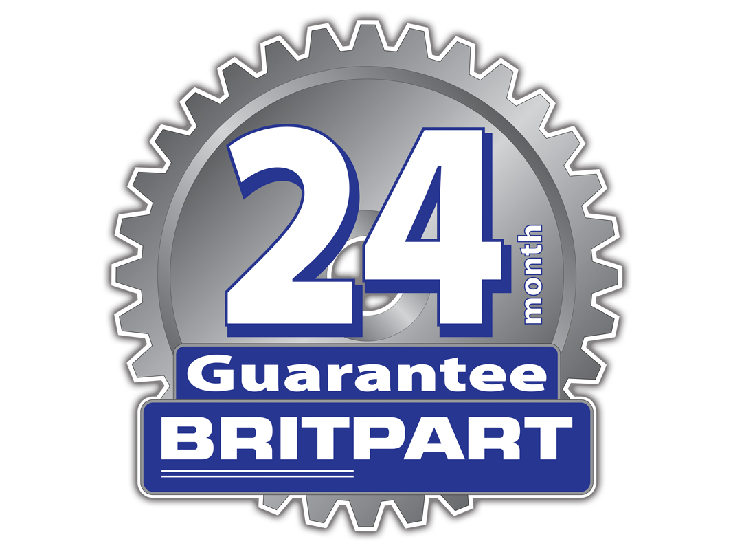 britpart 24 month warranty